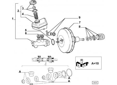 Cilindro Maestro Fiat Duna 1986 1990 Fiorino 1991 1993 Uno 1988 1990