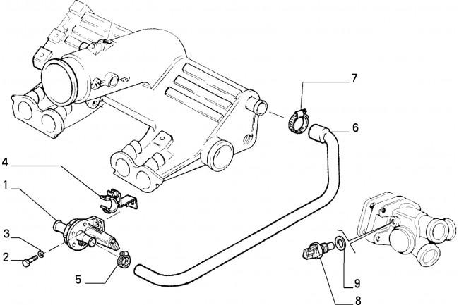 Elettrovalvola Fiat Uno Turbo