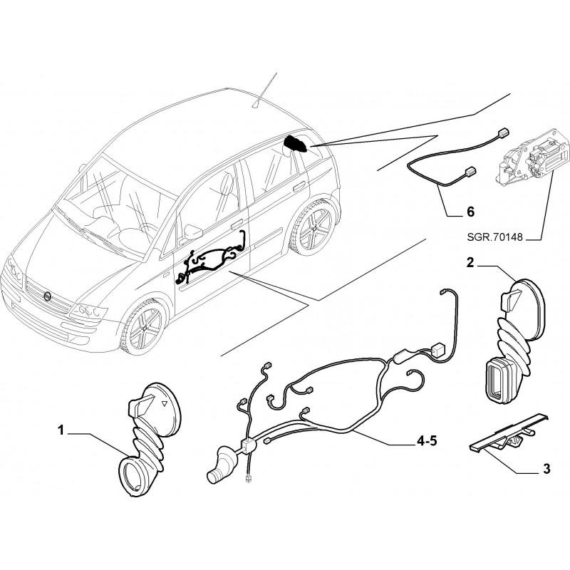 Cavo Elettrico Fiat Idea 20032008 Musa 20042007 Ypsilon 20032009