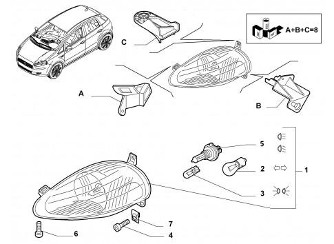 Wiring Harness Diagram1996 Toyota furthermore 5757 Condotto Aspirazione as well Bmw 1 Series Engine Diagram as well Fiat Punto 176 60 Td 1 7 63ch v7763 g429 additionally 3092 Luce Targa Fiat Stilo 2001 2007. on fiat punto 1996