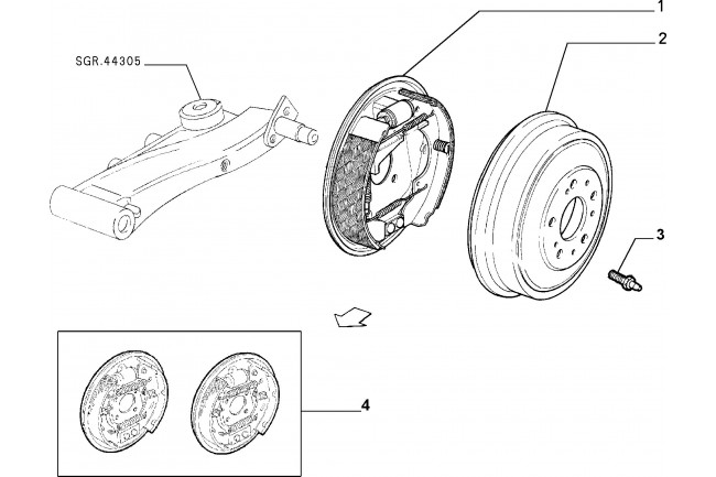 kit cilindreatti fiat idea 2003  2012 panda 2003  2010 punto